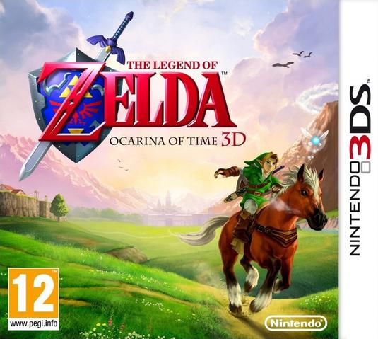 Файл:The Legend of Zelda - Ocarina of Time 3D (PAL).png