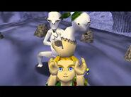 Link obteniendo careta de Kamaro