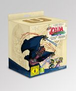 Caja europea de la edición especial The Legend of Zelda The Wind Waker HD