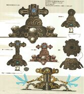 Tourelle Gardien Concept Art BOTW