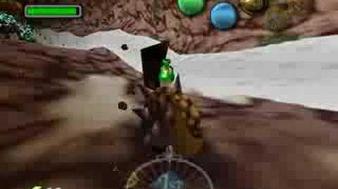 Zelda Majora's Mask - Boss 2 - Goht (Three Hearts)