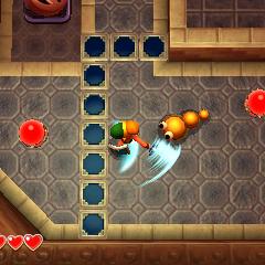 Link combatte un <a class=