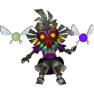 Hyrule Warriors Legends Skull Kid Standard Outfit (Grand Travels - OoT & MM Big Poe Recolor)