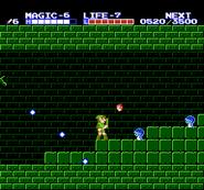 Link en el Palacio del Océano TAoL