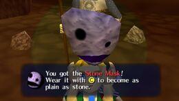 Link obtiene la Máscara de Piedra