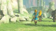 Los pilares en una de las memorias de Link