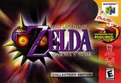 N64 Majora's Mask (Nordamerikanische Verpackung)