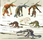 Moblin & Lizalfos Concept Art BOTW