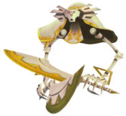 Skyward Sword Guardian Flying Guardian - Active (Render)