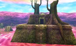 Temple de Bois cascade MM 3D