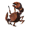 Breath of the Wild Roasted Seafood Blackened Crab (Icon)