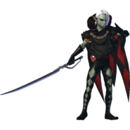 Hyrule Warriors Ghirahim Standard Outfit (Master Quest - Demise's Sword Recolor)