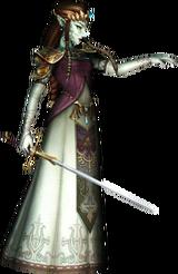 Zelda possédée par Ganondorf