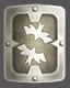 Escudo de hierro macizo