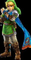 Link Hyrule Warriors Artwork