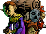 Personajes de The Legend of Zelda: Majora's Mask