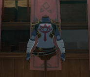 Breath of the Wild Enchanted Stealth Chest Guard (Kakariko Village)