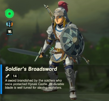 File:Breath of the Wild Soldier's Equipment Soldier's Broadsword (Inventory).png