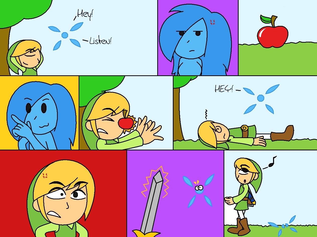 Imagen - Comic - La muerte de Navi.png | The Legend of Zelda Wiki ...