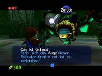 Gohma screenshot2 oot