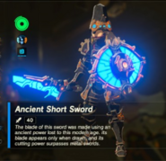 Breath of the Wild Ancient Soldier Gear (Sword) Ancient Short Sword (Inventory)