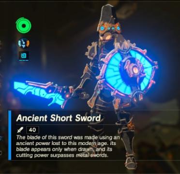 Ancient Short Sword | Zeldapedia | FANDOM powered by Wikia