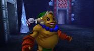 Link Goron en MM 3D