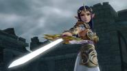 Hyrule Warriors Rapier Gleaming Rapier (Victory Cutscene)