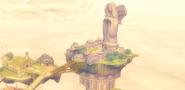 Plano lateral de la Efigie de la Diosa SS