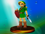Young Link Classic Trophy (Super Smash Bros. Melee)