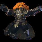 Ganondorf traje basado Heraldo de la Muerte HW