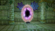 Hyrule Warriors Sealed Grounds (Sealed Temple) Gate of Time turned Gate of Souls (Intro Cutscene)