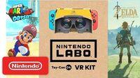 Nintendo Labo VR Kit Super Mario Odyssey Breath of the Wild