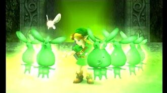 The Legend of Zelda Majora's Mask 3D - Woodfall Temple Stray Fairy Locations
