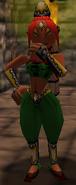 Aveil ropa verde OoT