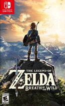 Breath of the Wild Box Art