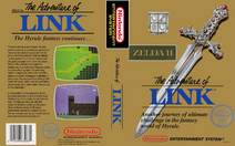 Zelda II - The Adventure of Link (box)