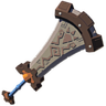 Breath of the Wild Goron Champion's Sword Boulder Breaker (Icon)