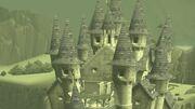 Castillo de Hyrule sellado del tiempo en TWW HD