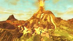 Eldin Volcano Artwork