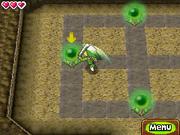 Link golpeando