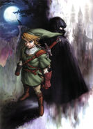 Artwork Link et zelda TP