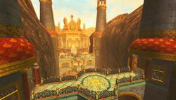 Fire Sanctuary Artwork (Skyward Sword)