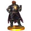 Ganondorf Trophée SSB3DS