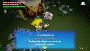 Link obteniendo un banderín de pescador TWW HD