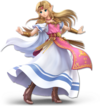 SSBU Zelda Artwork