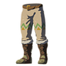 Breath of the Wild Rito Snowquill Armor (Leg Armor) Snowquill Trousers (Icon)