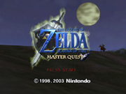 Title Screen (Master Quest)