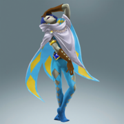 Hyrule Warriors Legends Ghirahim Standard Outfit (Koholint - Richard Recolor)