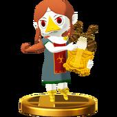 Super Smash Bros. for Wii U Sage of Earth Medli (The Wind Waker) Medli (Trophy)